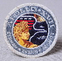 Apollo 17 Round Badge Front