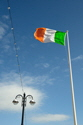 Flag and Street Lamp Aberystwyth T