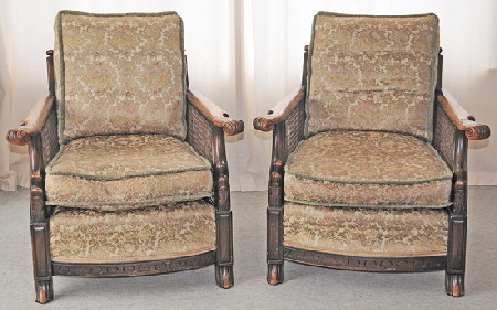 Bergere Chairs Front